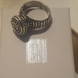 JAMES AVERY Sterling Silver Ring Beaded: African